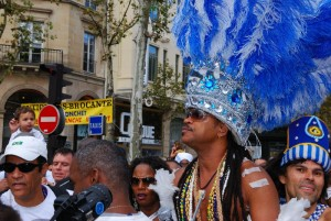 Carlinhos Brown au lavage de la Madeleine 2011